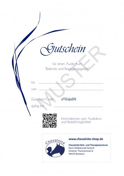 Geschenk-Gutschein Audiokurs